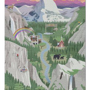 Yosemite National Park Jigsaw Puzzle Set