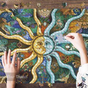 Zodiac Horoscope Jigsaw Puzzle Set