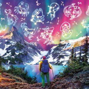 Zodiac Mountain Jigsaw Puzzle Set