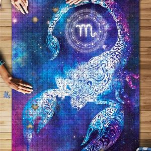 Zodiac, Scorpius Jigsaw Puzzle Set
