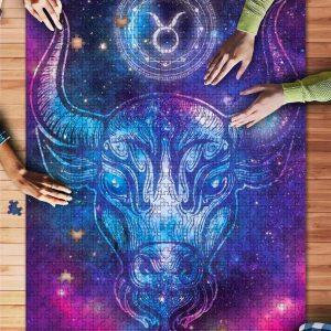 Zodiac, Taurus Jigsaw Puzzle Set
