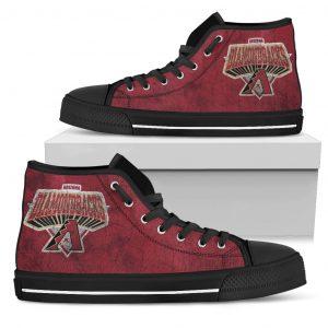 3D Simple Logo Arizona Diamondbacks High Top Shoes