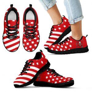 America Flag Full Stars Stripes Tampa Bay Buccaneers Sneakers
