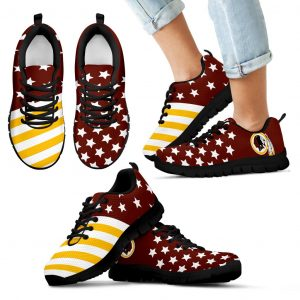 America Flag Full Stars Stripes Washington Redskins Sneakers