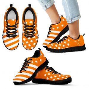American Flag Full Stars Tennessee Volunteers Sneakers