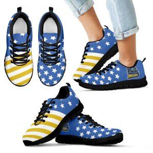 American Flag Full Stars UCLA Bruins Sneakers