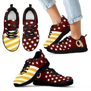 American Flag Full Stars Washington Redskins Sneakers