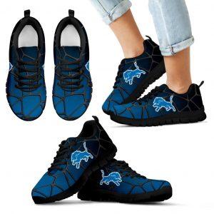 Colors Air Cushion Detroit Lions Gradient Sneakers