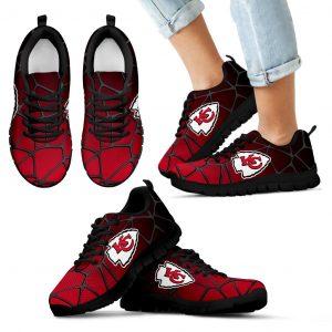 Colors Air Cushion Kansas City Chiefs Gradient Sneakers