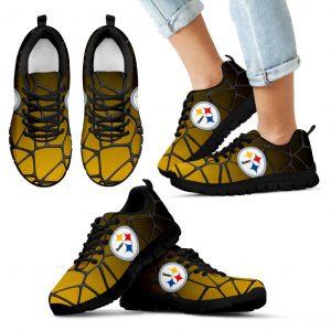 Colors Air Cushion Pittsburgh Steelers Gradient Sneakers