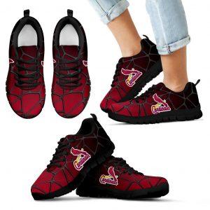 Colors Air Cushion St. Louis Cardinals Gradient Sneakers