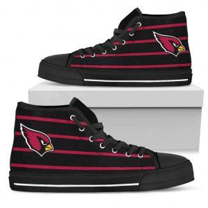 Edge Straight Perfect Circle Arizona Cardinals High Top Shoes