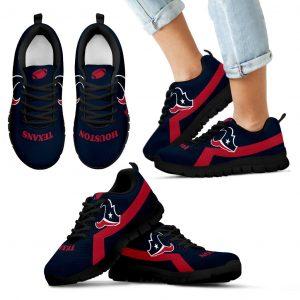 Houston Texans Line Logo Sneakers