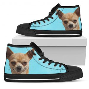 Look At Me Chihuahua High Top Shoes