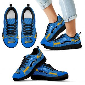 Lovely Stylish Fabulous Little Dots UCLA Bruins Sneakers