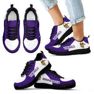 Minnesota Vikings Top Logo Sneakers