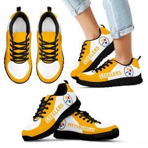 Pittsburgh Steelers Top Logo Sneakers