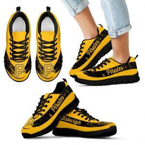 Single Line Logo Pittsburgh Pirates Sneakers