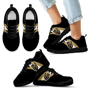 Three Colors Vertical Vegas Golden Knights Sneakers