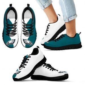 Two Colors Trending Lovely Philadelphia Eagles Sneakers