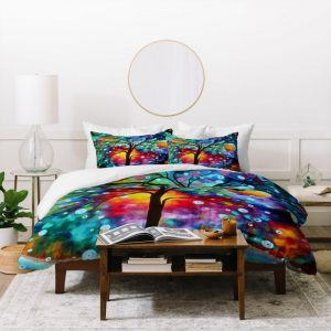 A Moment In Time Duvet Cover and Pillowcase Set Bedding Set