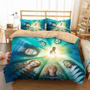 A Wrinkle In Time Duvet Cover and Pillowcase Set Bedding Set