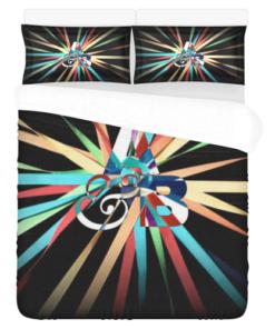 Above Beyond Duvet Cover and Pillowcase Set Bedding Set